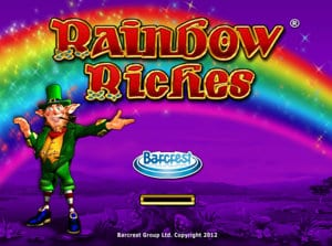 rainbow riches load screen