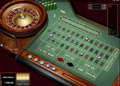 Microgaming Roulette Euro Roulette Gold