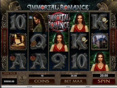 Microgaming Slots Immortal Romance