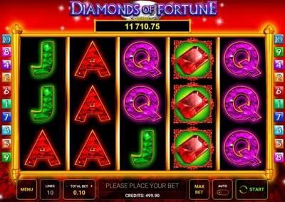 Diamonds of Fortune Mazooma