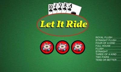 Let it Ride Place Bets
