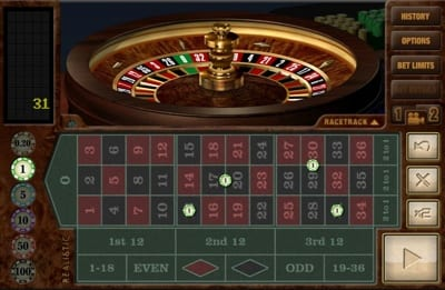 Realistic Games Roulette