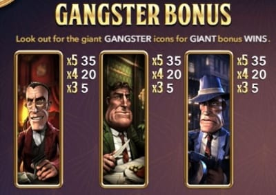 Slots Bonus Example