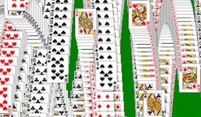 Solitaire Windows Win Screen