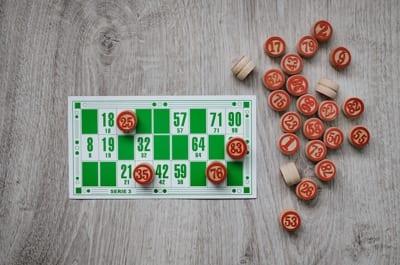 Old Bingo Card