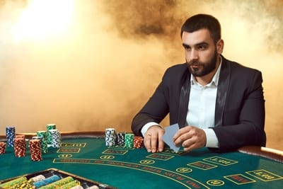 Poker Player Thinking