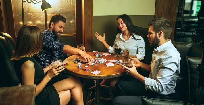 Friendly Poker Game