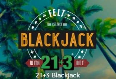 Blackjack 21 plus 3