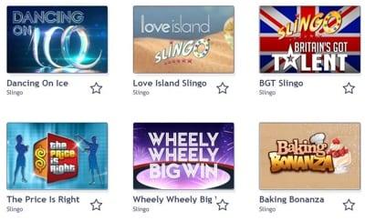 Bingocams Side Games