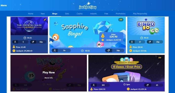Gamesys Jackpot Joy