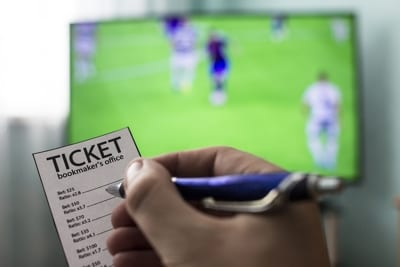 Betting Ticket Football TV
