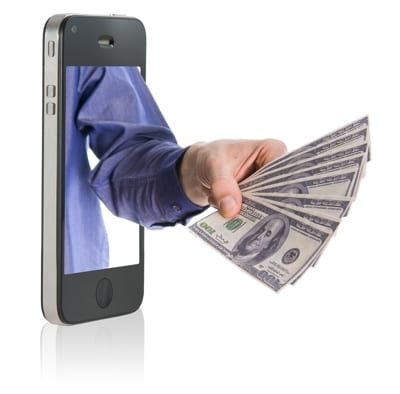 Cash Out Money Phone