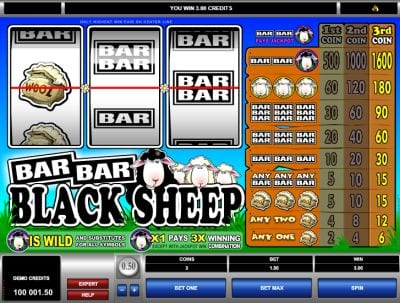 Microgaming Slots Bar Bar Black Sheep