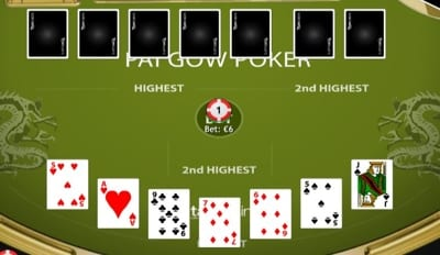Pai Gow The Deal