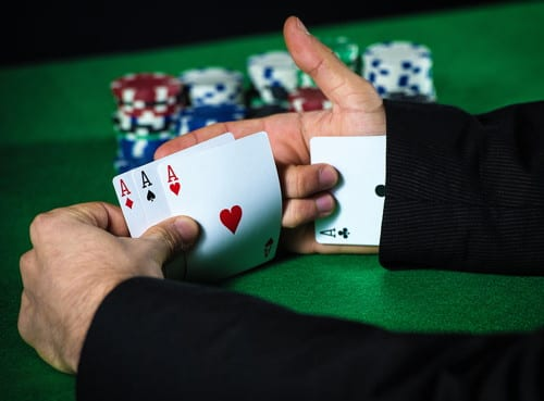 Player Cheating at Cards