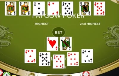 Pai Gow Dealers Hand