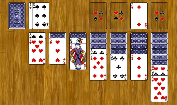 Solitaire In Action
