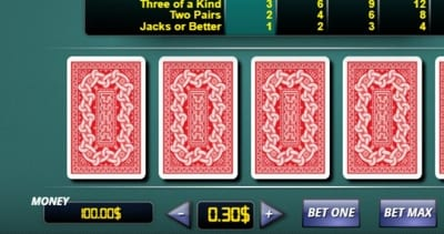 Video Poker Stake