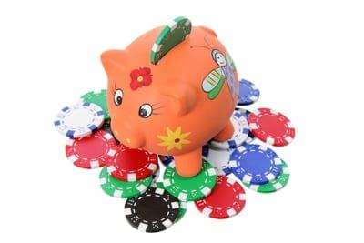 Piggy Bank Poker Chips