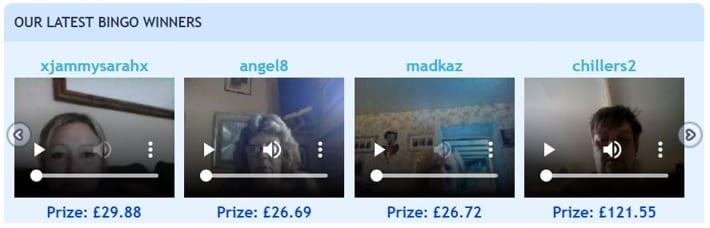 Bingo Webcams