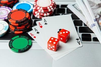 Online Poker Concept