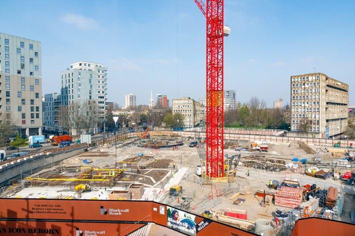 London Construction Site