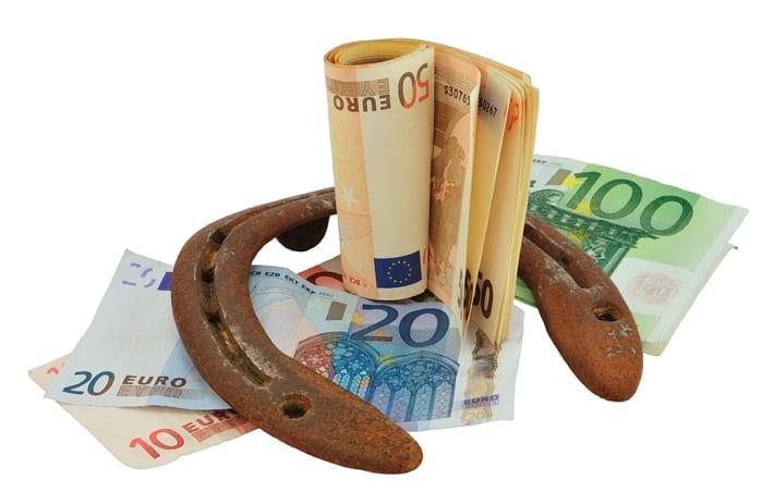 Horse shoe & euros
