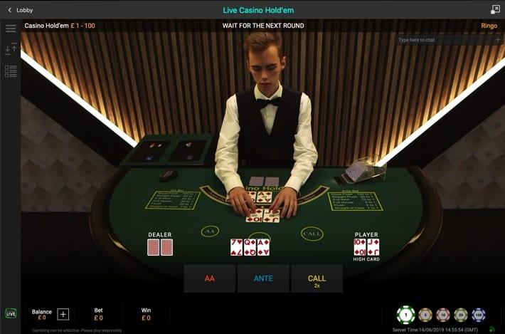 Live poker dealers