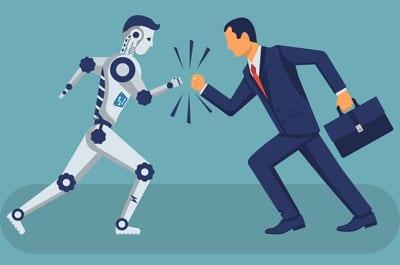 Man versus computer