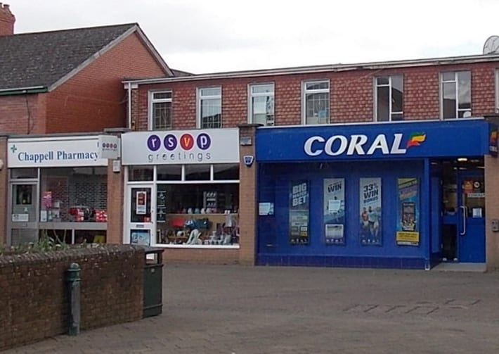 Coral betting shop in Caldicot