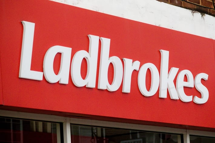 Ladbrokes betting shop in Camberley