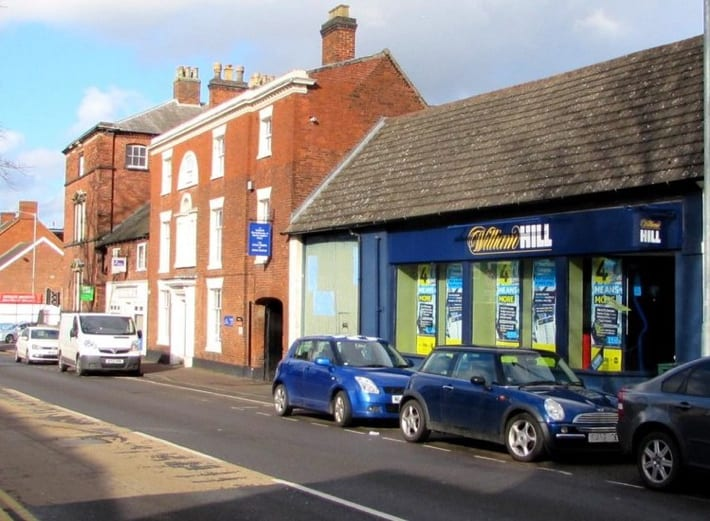 William Hill betting shop in Lichfield
