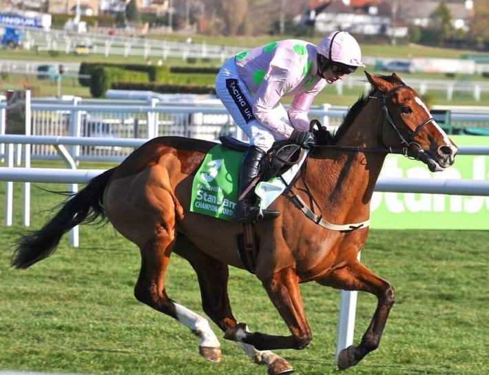 Faugheen, 2015 Champion Hurdle Winner