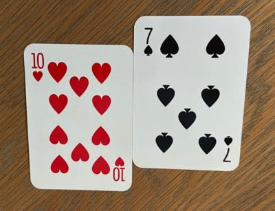 Daniel Negreanu Poker Hand
