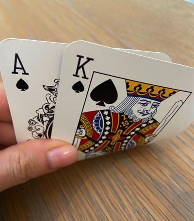 Exxon Valdez Big Slick Poker Hand