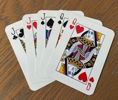 Maverick Poker Hand