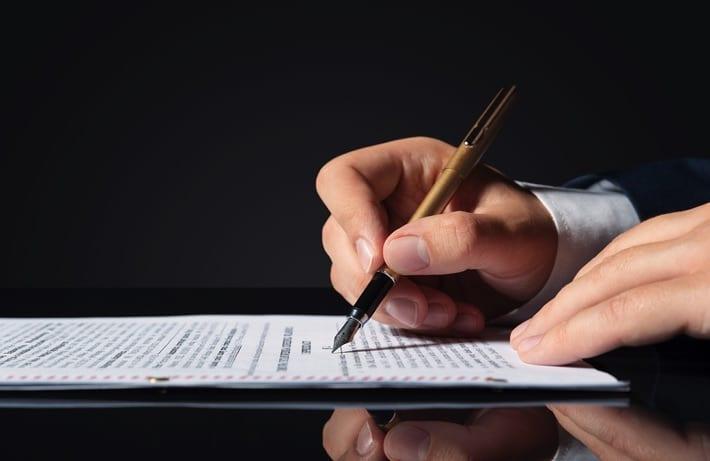 Lawyer documents