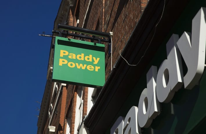 Paddy Power storefront