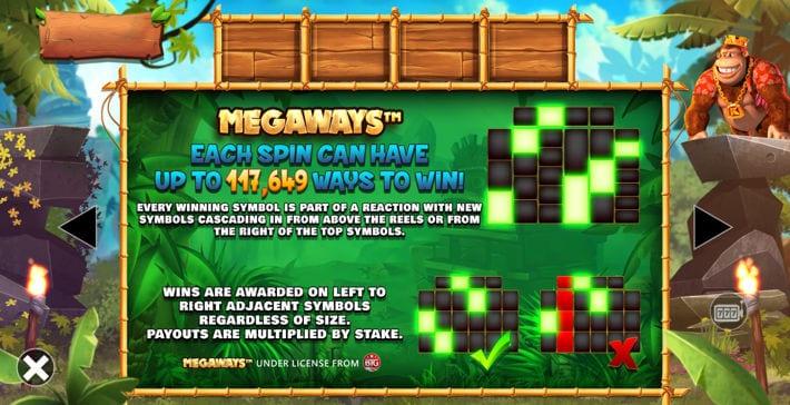 Megaways Paylines