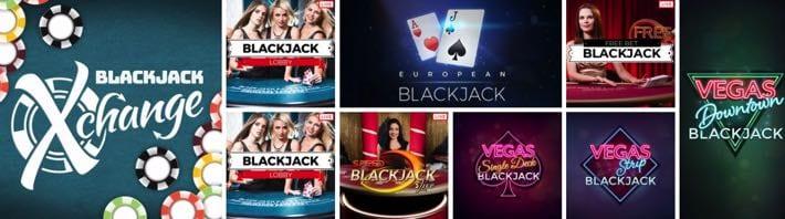 Blackjack offerings at 32Red