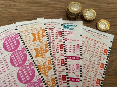 Lucky dip lottery tickets