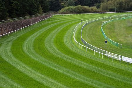 Racecourse bend