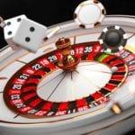 White Roulette wheel