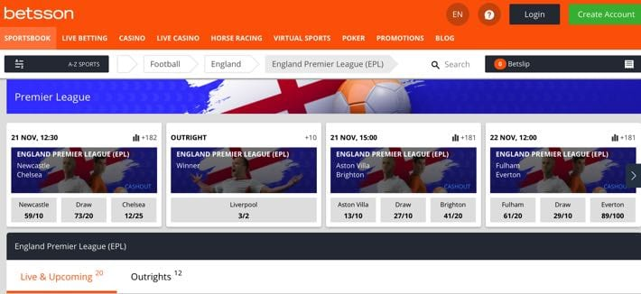 Betsson English Premier League