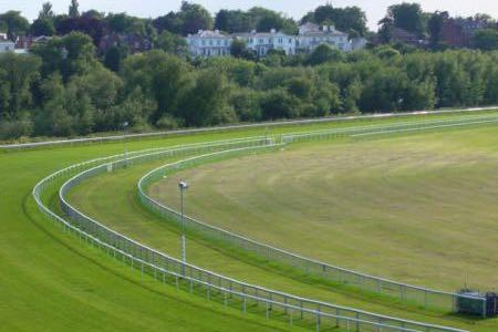 Chester Racecourse track