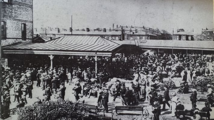 New Barns Racecourse in 1901