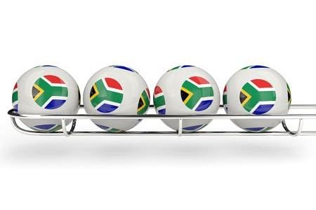 South African lottery balls