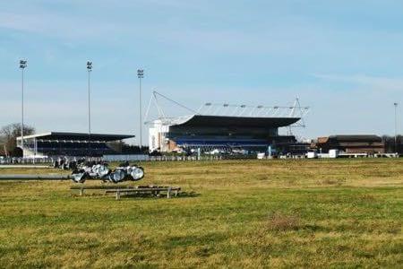 Kempton Park Racecourse Grandstand