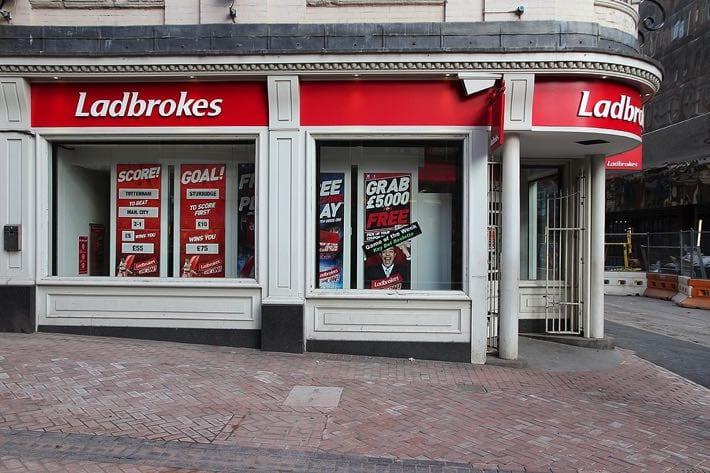Ladbrokes high street bookie
