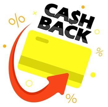 Cash back loyalty concept